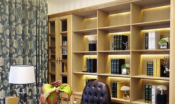 新古典风格书柜案例二