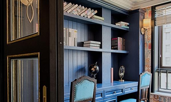 新古典风格书柜案例