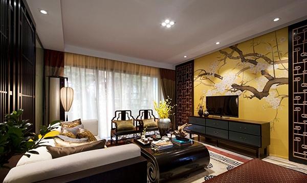 新中式风格护墙板案例二
