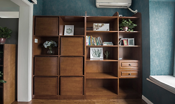 书柜实样图10号
